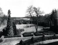Blick in den Hoetger-Garten um 1918