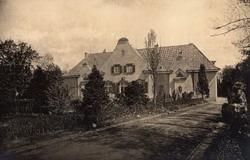 Historisches Foto vom Diedrichshof 1924 - Copyright: Diedrichshof