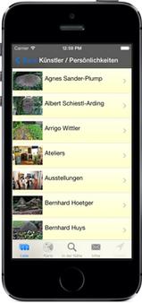 Screenshot der Teufelsmoor-App für iPhone, iPad + Android (www.teufelsmoor-app.de) - GPS-gesteuert das Teufelsmoor (bzw. den Landkreis Osterholz) neu entdecken ...